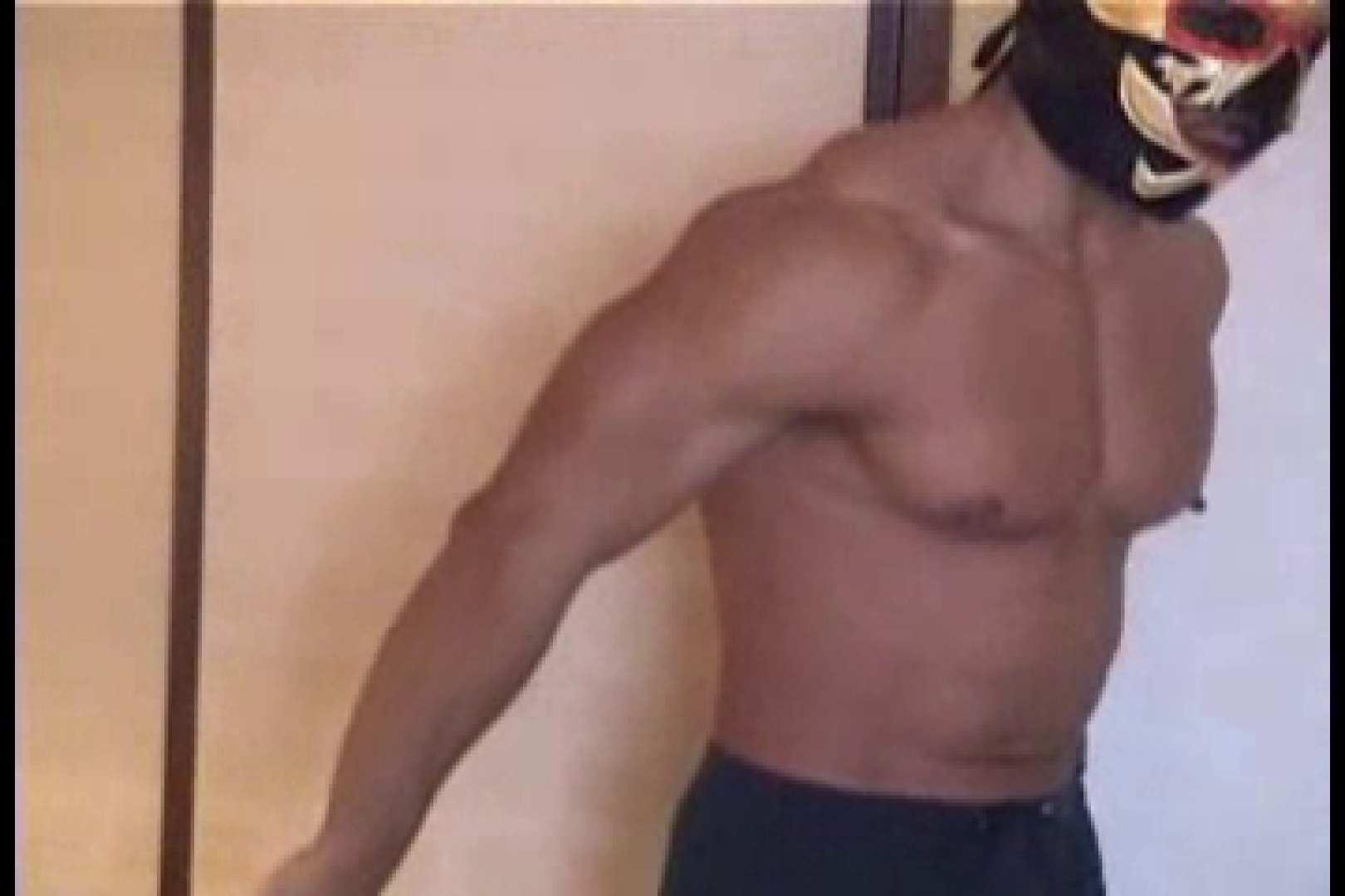 性器の味方ムキムキ覆面マッチョマン 男  60pic